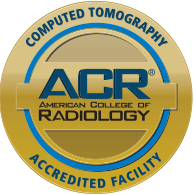 ACR CT Scan Accredited